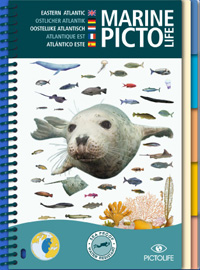 All Eastern Atlantic sea-life, the Marine Pictolife describes more than 250 marine species. With its completely waterproof, plasticized pages, it easily fits into a diving vest pocket or a beachbag.