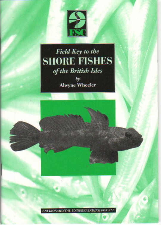 Shore Fishes of the British Isles by Alwyne Wheeler