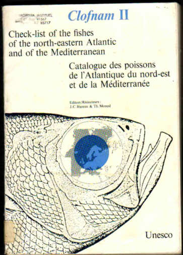 FISHES OF CLOFNAM THE NORTH-EASTERN ATLANTIC AND THE MEDITERRANEAN