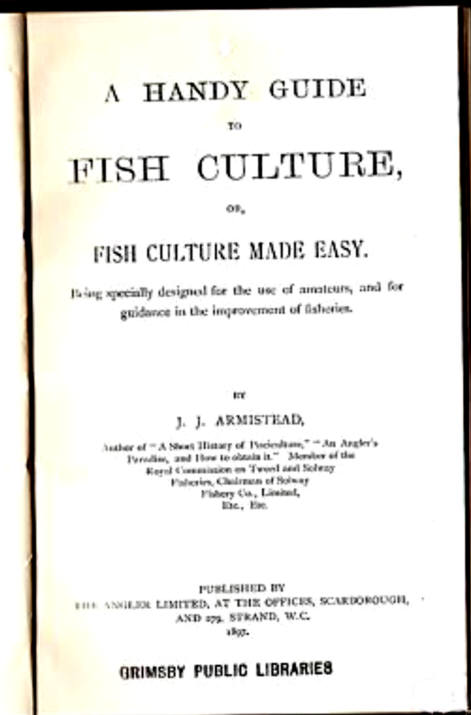 A HANDY GUIDE TO FISH CULTURE OF FISH CULTURE MADE EASY
