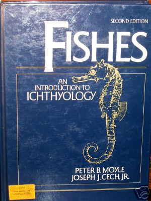 Fishes An introduction to iochthyology