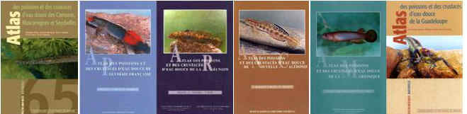 Books on fish identification in French for all the French colonies and islands