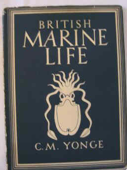 BRITAIN IN PICTURES SERIES. BRITISH  MARINE LIFE BY C M YONGE.
