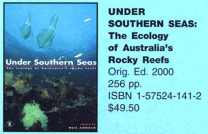 Under Southern Seas      The ecology of Australia's rocky reefs