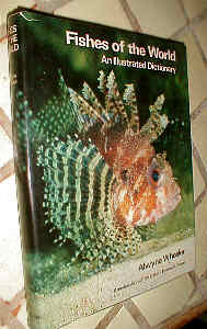 A Dictionary of the Fishes of the World by Alwyne Wheeler of the BMNH